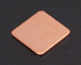 Heat Sink 15*15*1MM IC Copper Cooling Fin