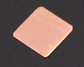 Heat Sink 15*15*0.5MM IC Copper Cooling Fin