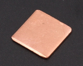 Heat Sink 15*15*1.2MM IC Copper Cooling Fin