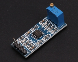 DC5-12V LM358 100 Gain Signal Amplification Module Operational Amplifier