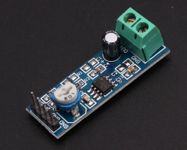 DC5-12V LM358 20 Gain Signal Amplification Module Operational Amplifier