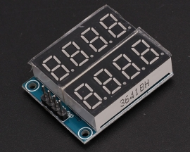 74HC595 8Bit 8-Digit LED Segment Display Module Red Digital Tube