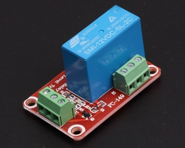 12V 1-Channel Duplex Power Relay Module Low Level Trigger