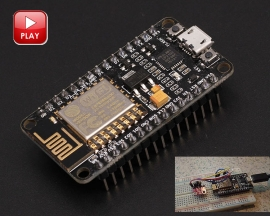 Lua Nodemcu WIFI Network Internet of Things IOT Development Board Module Based ESP8266