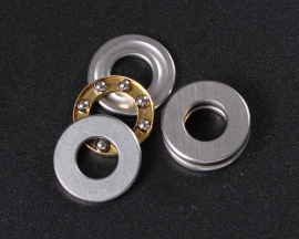 Axial Ball Thrust Bearing F7-15M 7 x 15 x 5 mm