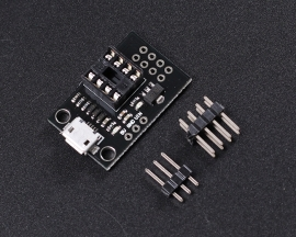 Development Programmer Board for ATtiny13A/ATtiny25/ATtiny45/ATtiny85