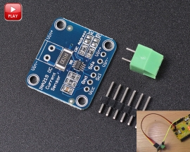 INA219 I2C Bi-directional DC Current Power Supply Monitor Sensor Breakout Module