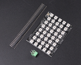 40 WS2812 5050 RGB LED Matrix Shield for Arduino