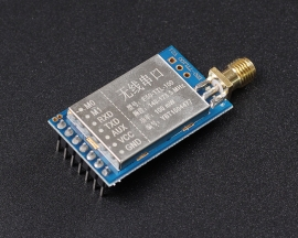 170MHz Wireless UART Transceiver Module Low Power Super Penetrated