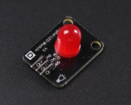 10MM Red LED Module Indicator Module for Arduino STM32 ARM