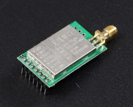 230MHz Wireless UART Transceiver Module 50mW 2100m Low Power