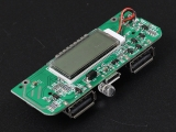 Two-USB 5V 2.1A 1A Mobile Power Bank Charger PCB Board for 18650 Battery