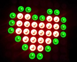 8x8 LED Red & Green Dual Color Dot Matrix Display Module TM1640 For Arduino MCU