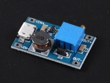 2A Booster DC-DC Step-Up module Micro USB Input 2V-24V to 5/9/12/28V