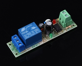 DC 12V Delay Timing Relay Shield Timer Switch Module 0~200 Second Adjustable Loop Module with NE555 Oscillator