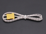 K Thermocouple Temperature Sensor 1M -20-500℃ 12.5MM Interface