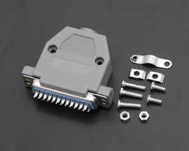 DB25 Male 25Pin Plug with Box Parallel Port Connector