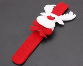 White Light Deer Wristband Christmas Accessories for Child