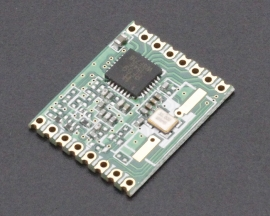 RFM69-915MHz Wireless Transceiver Module FSK/OOK 300Kbps for Remote/HM/Track