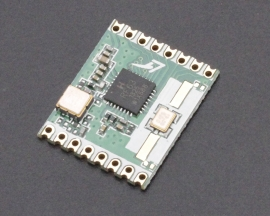 RFM64-433MHz Wireless Transceiver Module FSK/OOK 200m for Remote/HM/Track