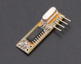 RXB12 433Mhz Superheterodyne Wireless Receiver -107dB for Arduino/AVR