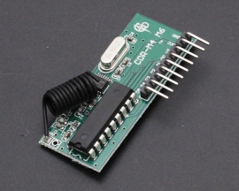 CDR-M6 PT2272-M6 433Mhz Superheterodyne 6Bit Wireless Receiver for Arduino/AVR