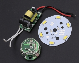 Microwave Radar Sensor 3W LED Light Control Smart Switch with Power Supply