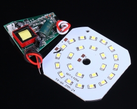 Emergency LED Driver 7W with LED Lamp for Corridor/Warehouse