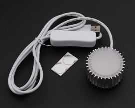 Car USB Lamp Warm White 3W LED Energy Saving Lamp Table Lamp