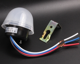 Rain-proof Light Control Switch 220V Intelligent Controller