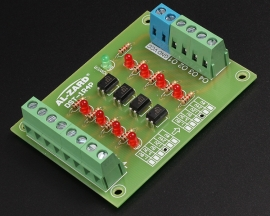 4Bit Optocoupler Isolator 12V to 5V Level Voltage Converter Board PLC Signal