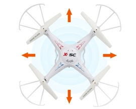 Syma X5C-1 Explorers 2.4GHz 4CH 6 Axis Gyro RC Quadcopter With HD 2MP Camera
