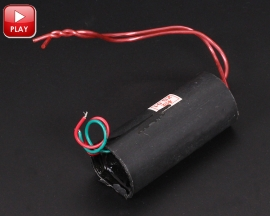 200KV 2cm Round Super Arc 3.7V-6V Inverter Pulse High-Voltage Generator