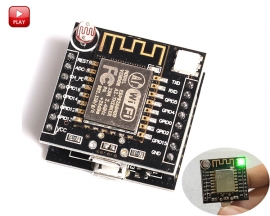 ESP8266 Serial WiFi Witty Cloud Development Board ESP-12F Module Mini Wifi Module for IOT Smart Home