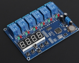 5Bit Timer Relay Delay Module Time Controller 60S AC/DC12V