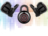 Black Mini Wireless Bluetooth Earphone Music 4.1 10m Earbud Stereo