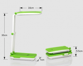 LED Foldable Table Lamp Rechargeable fro Reader/Writer