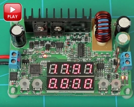DP30V5A-L LED Display Converter Constant Voltage/Current 6-40V to 1-32V NC DC Step Down Buck Power Module