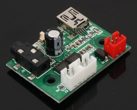 Mini 3W+3W Class AB Stereo Power Amplifier Board 5V USB