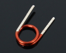 100Pcs 3.5*1.5T*0.7 Copper Wire Hollow Coil Inductance Remote Control FM Coil Inductor
