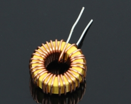 10Pcs 33UH (3A) Nude Toroidal Inductor Wound Inductance Magnetic Inductance lm2596 Dedicated