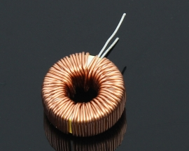 10Pcs 330UH (3A) Nude Toroidal Inductor Wound Inductance Magnetic Inductance lm2596 Dedicated