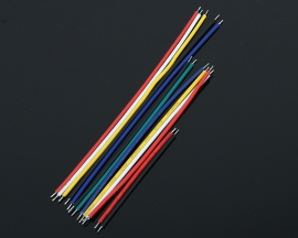 24AWG Tinning Wire Double Tinned Colorful Cable 5CM 8CM 10CM 13 Types 10pcs each