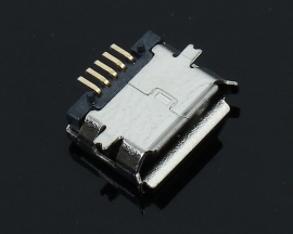 100PCS Micro USB Socket MK5P MINIUSB USB Female 5-Pin SMD