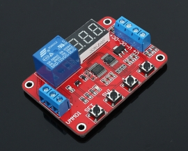 12V Voltage Comparator Measuring Charge/Discharge Multifunctional Module