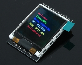 5V TFT 1.44-inch 128*128 Colorful LCD Screen ST7735 Driver Module Compatible w/ Arduino Replace 5110 LCD