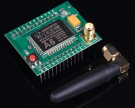 GPRS GSM Module A6 Minimum System Voice Messaging Development Board