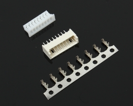 100pcs 1.25/1.27MM-8P Connector Plug socket/Straight/Reed Heat Resisting