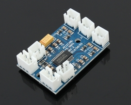 3.6v-5.5V USB Powered 3W Mini Two-channel Digital Amplifier Board With Electronic Volume Control