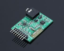 Si4703 FM Radio Module 51 Code Routines Serial Port Transfer Station Or Button Transfer Station Adjust Volume